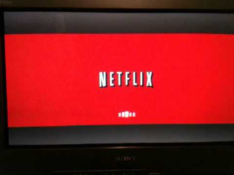 Playstation 3 Netflix App UI