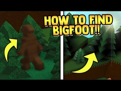 How To Hack Build A Boat For Treasure Roblox How To Get How To Find Bigfoot Very Rare Build A Boat For Treasure Roblox Youtube