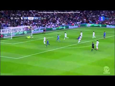 Klaas Jan Huntelaar Goal Real Madrid 1 - 2  Schalke 3/10/2015 UEFA Champions Laeague