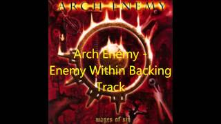 """Guitar backing track for """"Enemy Within"""" by Arch Enemy Also featured..."""