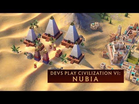 CIVILIZATION VI: Devs Play Nubia (Livestream VOD)