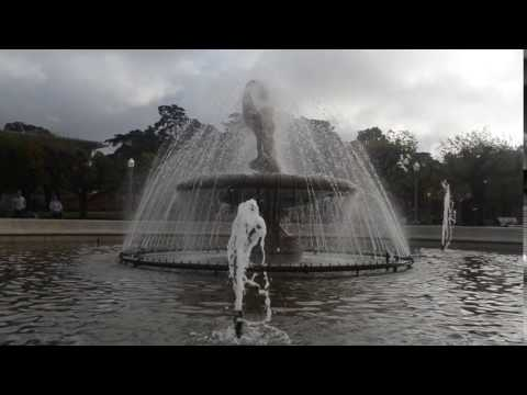 Water Frountain- Music Concourse at Golden Gate Park