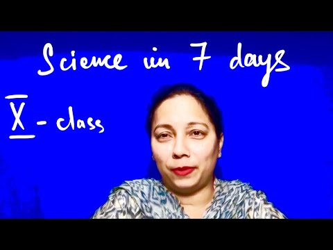 CBSE BOARD EXAMS 2018 || How to do Science in 7 Days || Class Tenth NCERT ||