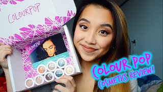 Colour Pop Cosmetics Eye Shadow Review! | WORTH THE HYPE?!