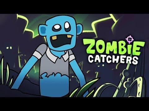 ОХОТНИКИ на ЗОМБИ - НЕУПРАВЛЯЕМЫЙ ГАРПУН! ЛОВИМ ЗОМБИ в мульт игре Zombie Catchers