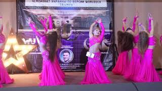 восточные танцы дети / beby belly dance - mejance