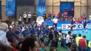 05-10-2014: Bazooka Man e la Band a Bari - barivolley2014