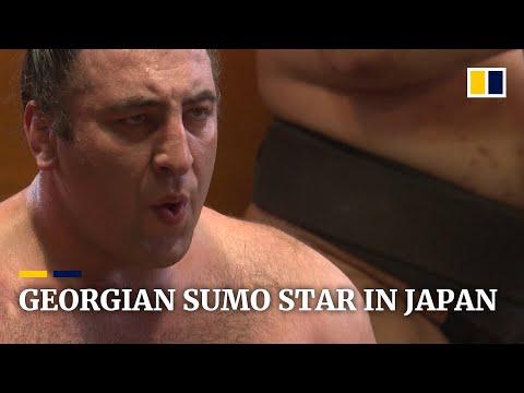 Georgian Sumo Wrestler Reached Second-highest Rank