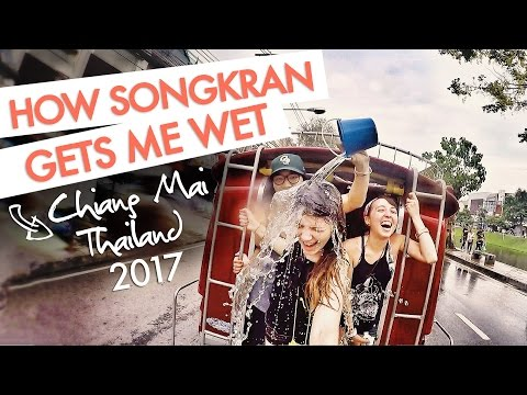 How Songkran Gets Me Wet | 讓波蘭女生想拋棄台灣的泰國 | Chiang Mai, 2017