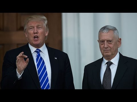 Media Ignoring Mattis's Ties to Top Defense Contractor