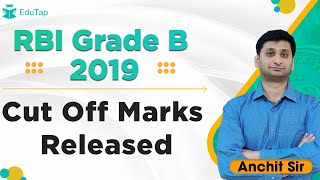 Cut Off Marks | RBI Grade B 2019 | Explained