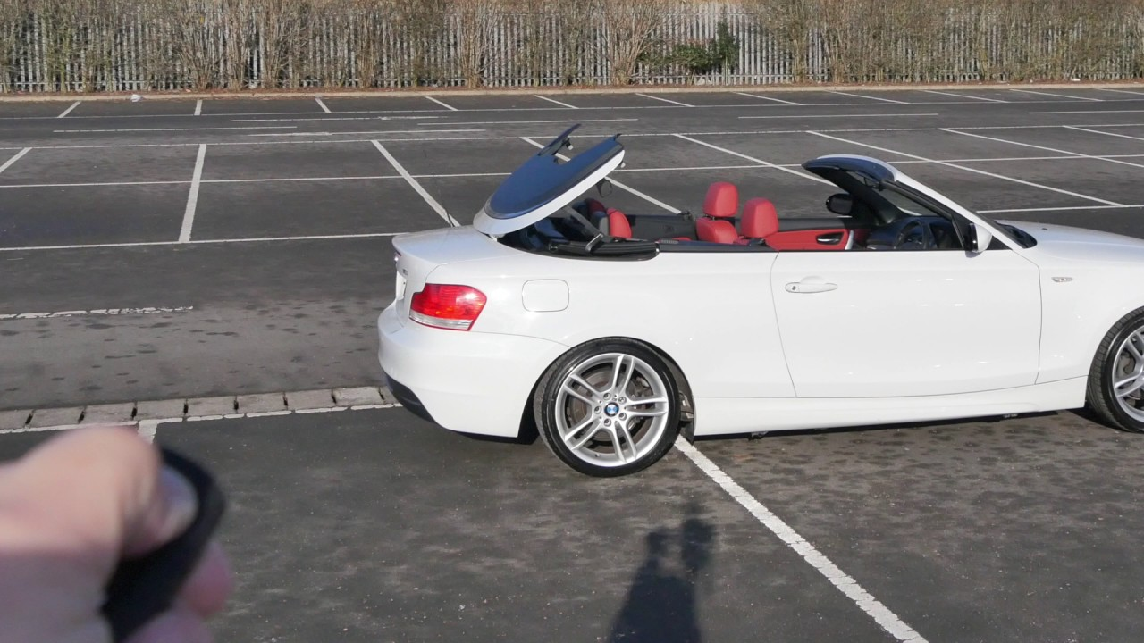BMW 1 Series 2 0 118i M Sport Convertible 2dr Remote Roof Operation ...