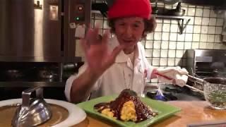 日本京都蛋包飯,原來還有這招!?(驚)