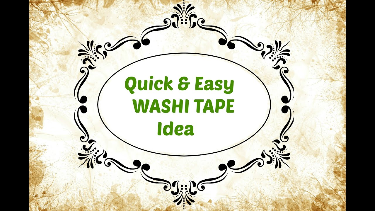 Washi Tape Kitchen Cabinets Quick Easy Spring Cabinet Makeover Tour Washi Tape Idea Youtube