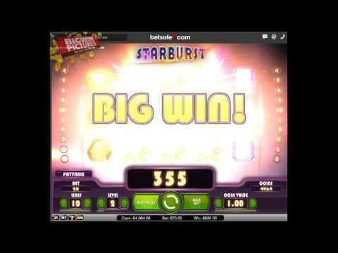 Starburst - MEGA WIN with 20€ BET!