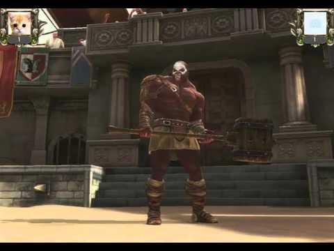 игра Гладиаторы 3D Арена и Кровь в контакте