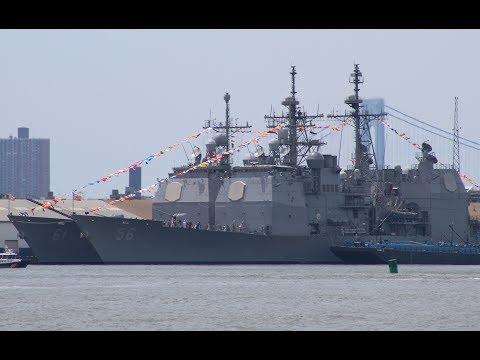 Ticonderoga-class cruisers: USS San Jacinto & USS Monterey