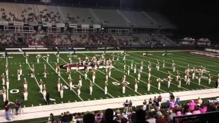 10/25/14 ULM Sound of Today Marching Band performing Let it Go (Frozen)