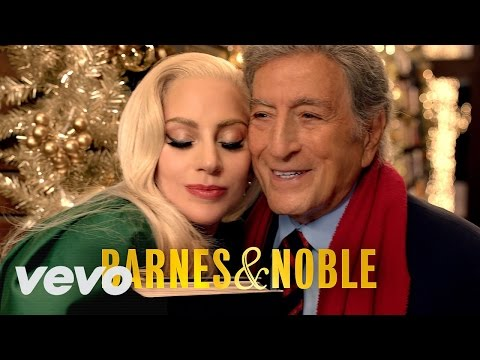 Lady Gaga & Tony Bennett (Christmas Campaign Barnes & Noble) ᴴᴰ
