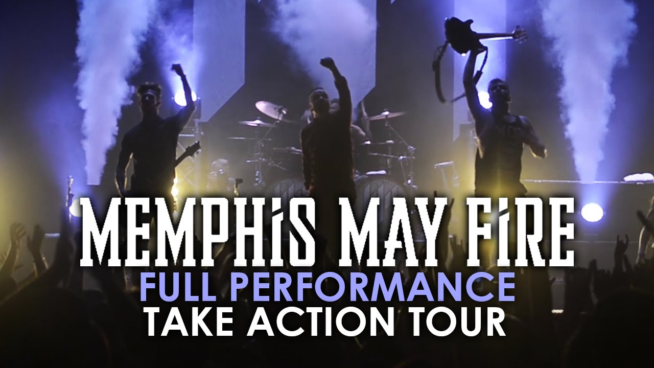 memphis may fire - full set  3 live  take action tour