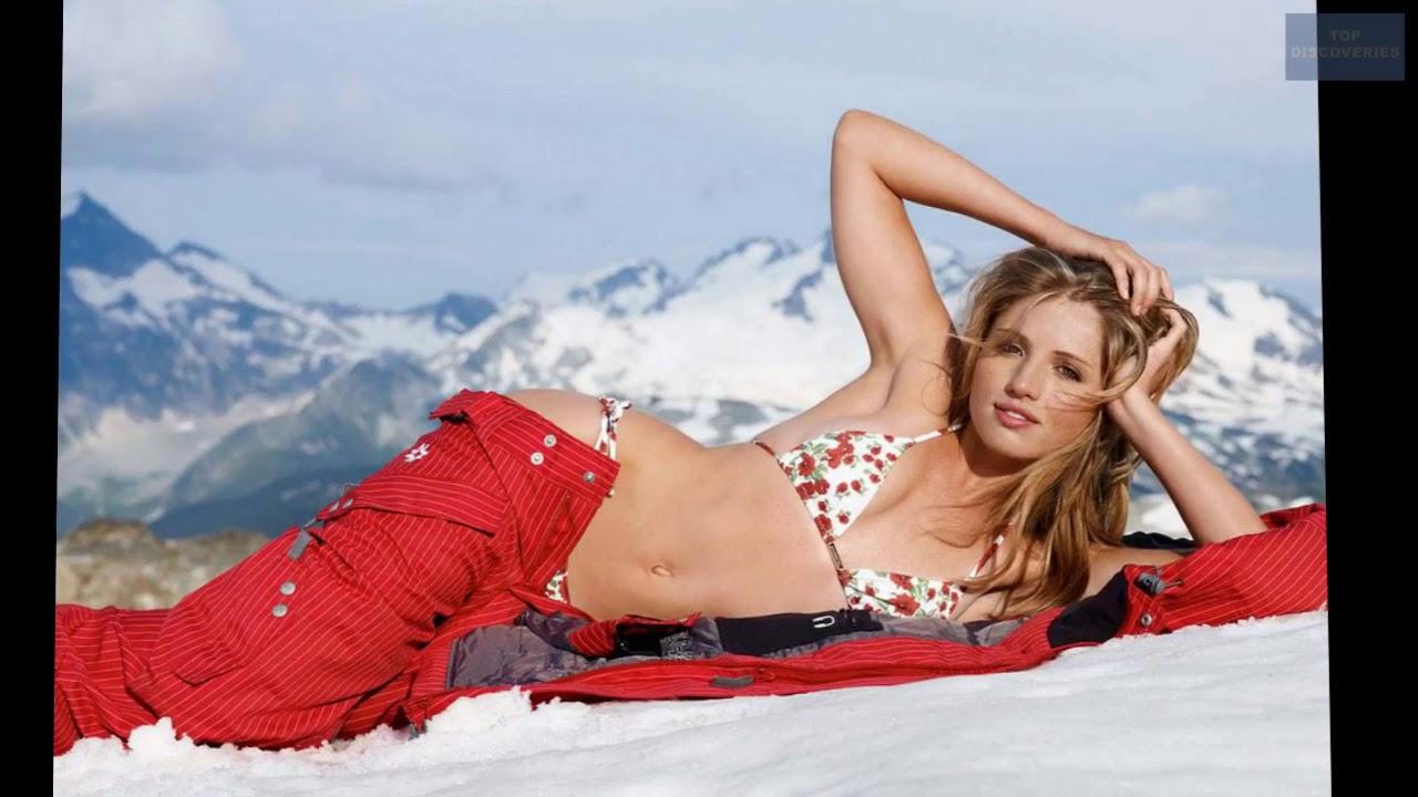 a87bc01dd0 Hotties On Ice The 10 Best Winter Bikini Photoshoots - YouTube