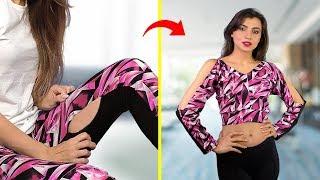 Модные лайфхаки для одежды Крутые идеи как обновить гардероб