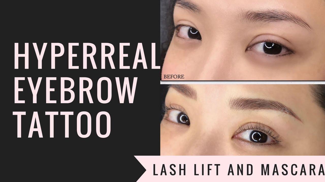 Getting My Eyebrows Tattooed!!! | Kryz Uy
