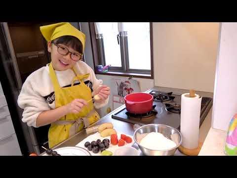 簡単手作りいちご飴やリンゴ飴のフルーツ飴の作り方とASMR♪パリパリ食べる音フェチ☆