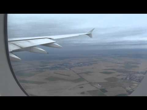Air France A380 Economy Los Angeles To Paris Full Flight.