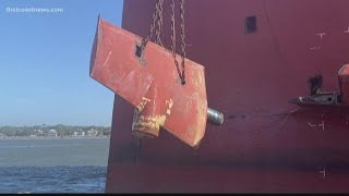What's next for Golden Ray cargo ship after it's removed from St. Simons Sound?