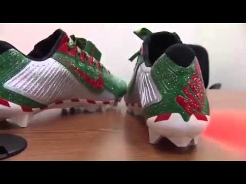 Here are Odell\'s Christmas shoes Nike made for him to wear pregame ...