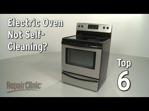 "Thumbnail for video ""Top 6 Reasons Electric Oven Isn't Self-Cleaning?"""