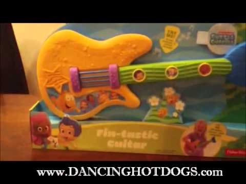 Fisher Price Bubble Guppies Fin Tastic Guitar