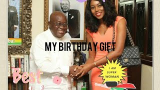 Yvonne Nelson Celebrates her 32nd Birthday with her baby girl