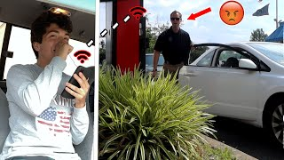 Secretly Ordering For People At Drive Thru PRANK!