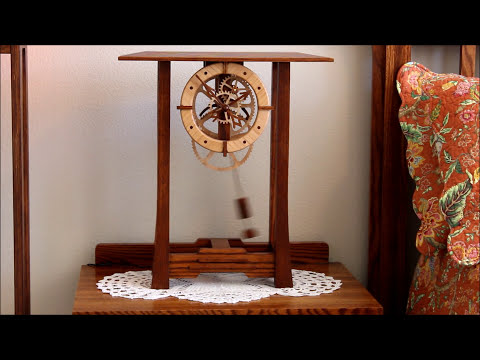 Arts and Crafts Clock by Clayton Boyer