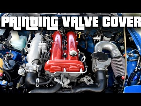 Project BRAP // PAINTING THE VALVE COVER \\