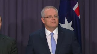 Australia's new Prime Minister Scott Morrison gives first speech