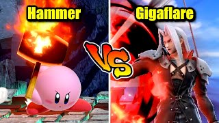 Who is Stronger Than Sephiroth's Neutral B in Super Smash Bros. Ultimate?