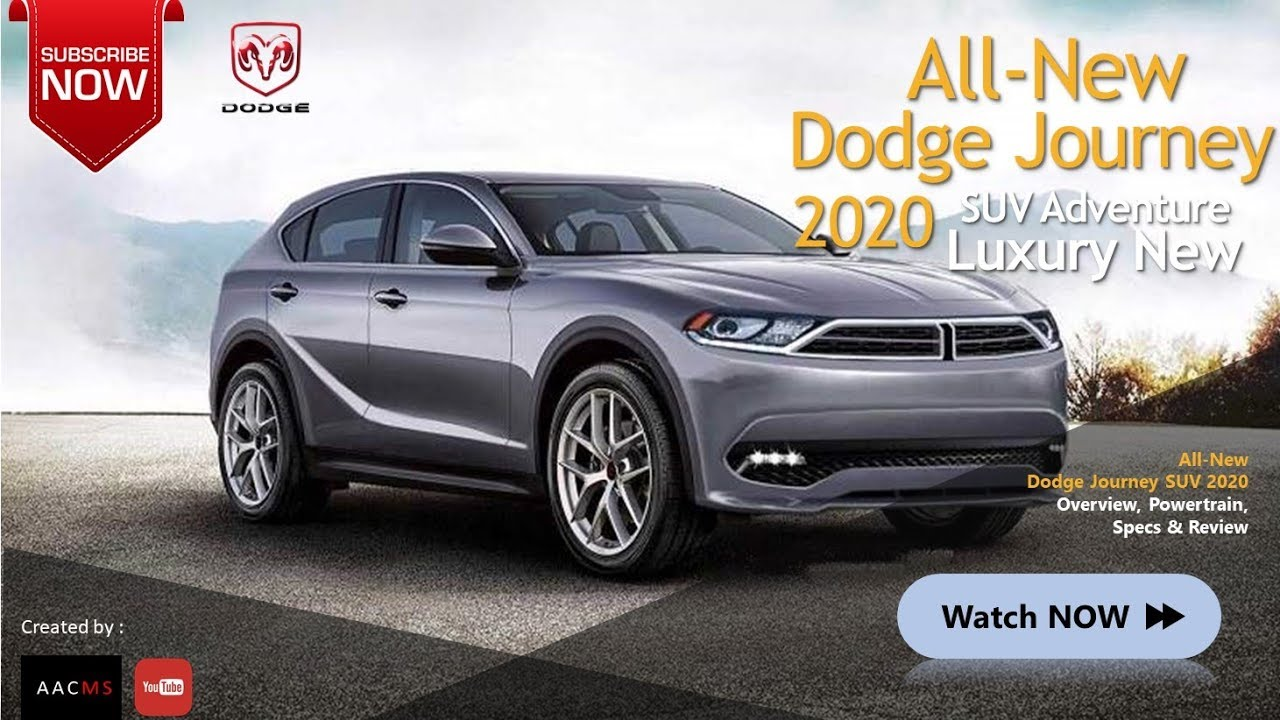 All New 2020 Dodge Journey It S Suv Complete Features