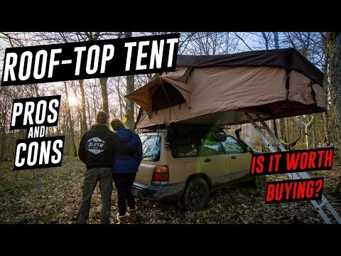The REAL DEAL with ROOF TOP TENT Camping - PROS and CONS