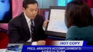 Part 1/3, Karen Davila with Arthur Yap on
