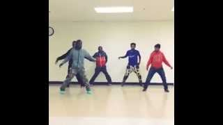 HNF Dance Crew Bopping To T-Wayne-Turnt Way Chicago Version