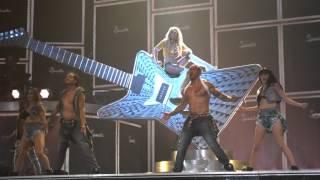 Britney Spears Piece of Me I Love ROck N Roll 2-13-16