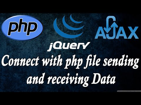 ajax jquery php connecting php file sending variables part 2