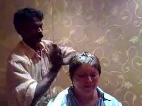 Jenny Morris in India - Indian Head Massage
