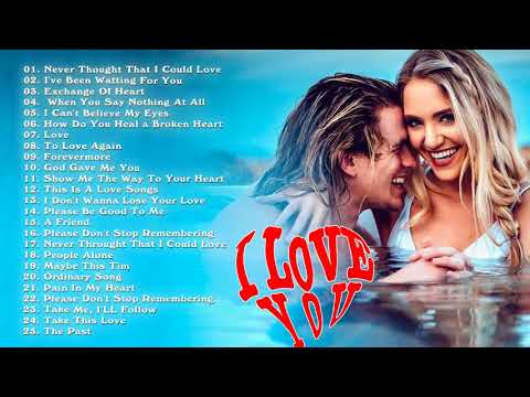 Greatest Beautiful Love Songs 70s 80s 90s - I Love You Songs - Best Romantic Love Songs Of All Time
