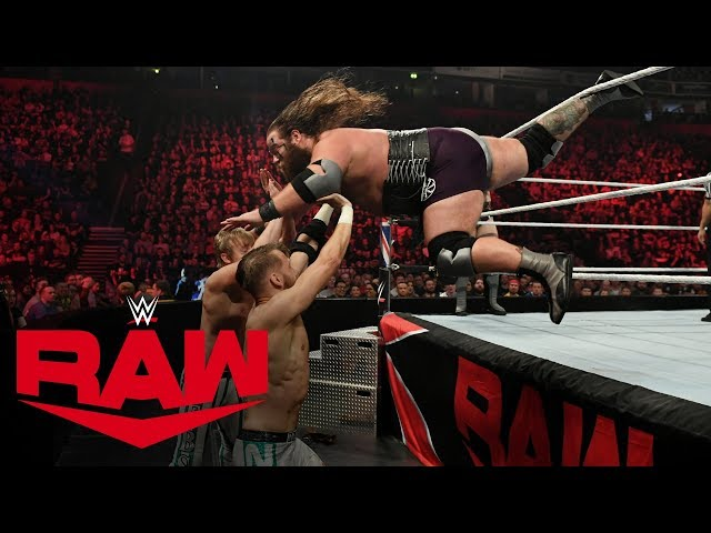 The Viking Raiders vs. Mark Andrews & Flash Morgan Webster: Raw, Nov. 11, 2019
