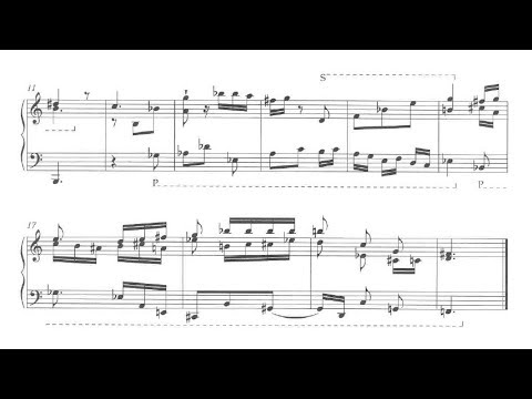Glenn Gould - 5 Short Pieces (audio + sheet music)