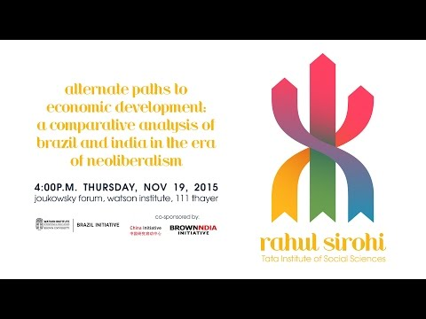Alternate Paths to Economic Development: Brazil and India in the Era of Neoliberalism